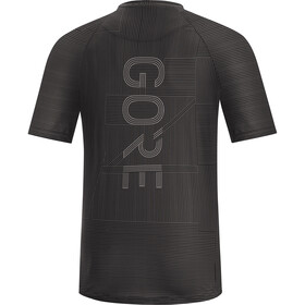 GORE WEAR M Line Brand T-shirt Homme, dark graphite grey/black